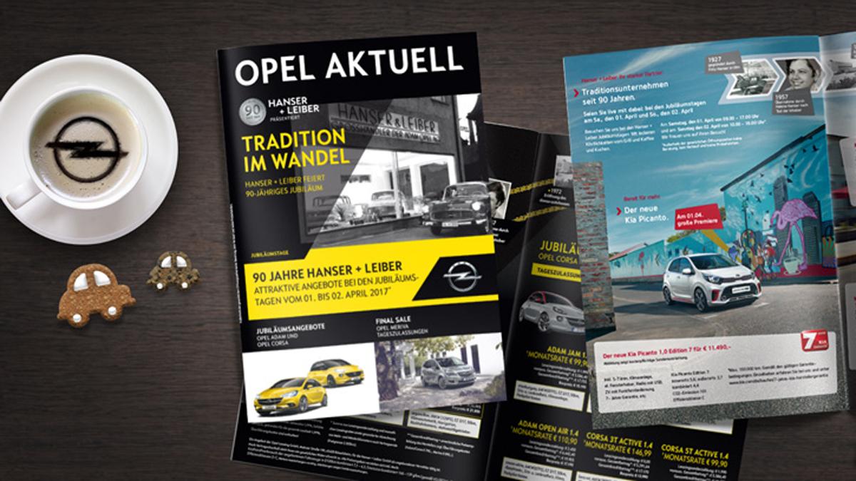 Autohaus Hanser+Leiber Ulm / Kundenperiodikum
