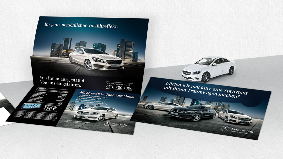 Mercedes Benz Fricker Ulm / KundenMailer